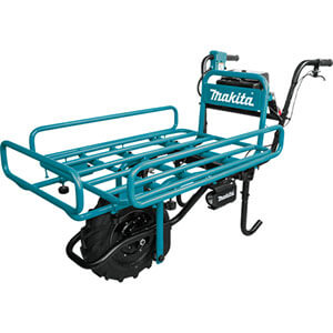 Makita XUC01X2 18V X2 LXT Lithium‑Ion Brushless Cordless Power‑Assisted Flat Dolly