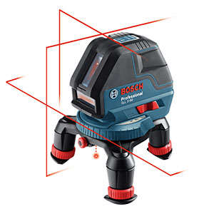 Bosch GLL 3-50 Three-Line Laser with Layout Beam