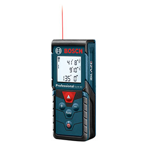 Bosch GLM 40 X BLAZE 135 Ft. Laser Measure