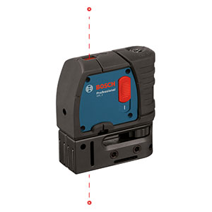 Bosch GPL 2 R Two-Point Self-Leveling Plumb Laser