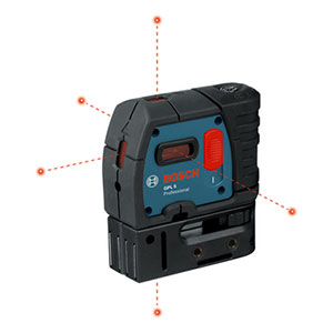 Bosch GPL 5 Five-Point Self-Leveling Alignment Laser