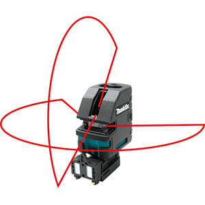 Makita SK104Z Self‑Leveling Horizontal and Vertical Cross‑Line Laser