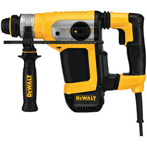 Dewalt D25416K SDS+ Combination Hammer with SHOCKS and E-CLUTCH