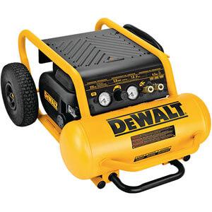 Dewalt D55146 1.6 HP Continuous, 225 PSI, 4.5 Gallon Compressor