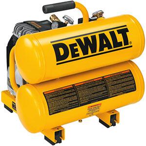 Dewalt D55151 1.1 HP Continuous 4 Gallon Electric Hand Carry Compressor