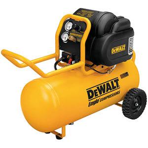 Dewalt D55167 1.6 HP Continuous, 225 PSI, 15 Gallon Workshop Compressor