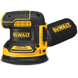 Dewalt DCW210B 20V MAX XR Brushless Cordless Variable-Speed Random Orbital Sander