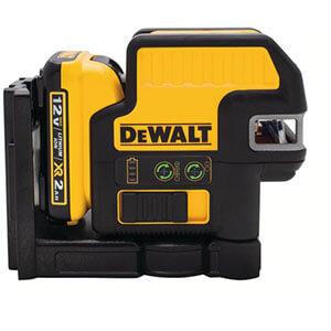 Dewalt DW0822LG 12V MAX 2 Spot Cross Line Green Laser