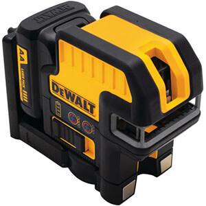 Dewalt DW0825LR 12V MAX Compatible 5 Spot + Cross Line Red Laser
