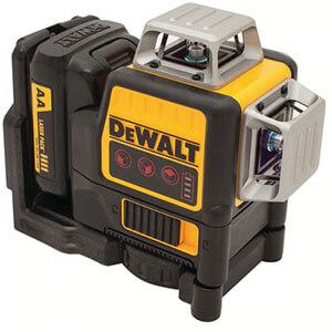 Dewalt DW089LR 12V MAX Compatible Red 3 X 360 Line Laser