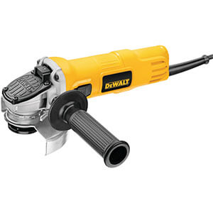 Dewalt DWE4011 Small Angle Grinder with One-Touch Guard
