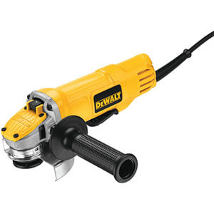 Dewalt DWE4120N Paddle Switch Small Angle Grinder with No Lock-on