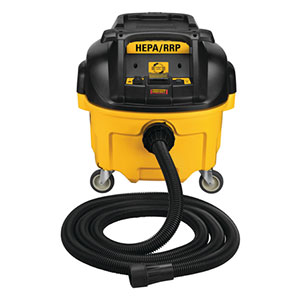 Dewalt DWV010 8 Gallon Wet and Dry HEPA and RRP Dust Extractor