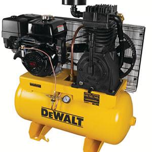 Dewalt DXCMH1393075 30 Gal. 2-Stage Portable Gas-Powered Truck Mount Air Compressor
