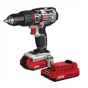 PORTER-CABLE PCC620LB 20V MAX Cordless Hammer Drill Kit