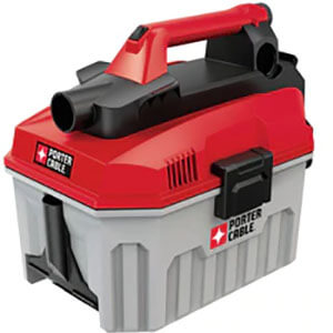 PORTER-CABLE PCC795B 20V MAX 2-Gallon Cordless Wet and Dry Vacuum