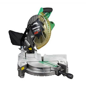 Metabo HPT C10FCH2(S) Compound Miter Saw with Laser Marker