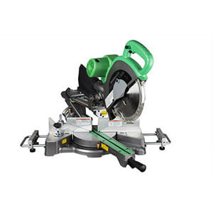 Metabo HPT C10FSHS Sliding Dual Compound Miter Saw with Laser Marker