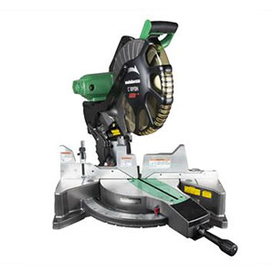 Metabo HPT C12FDH(S) Dual Compound Miter Saw with Laser Marker