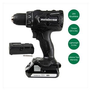 Metabo HPT DS18DBFL2QB 18V Lithium Ion Brushless Driver Drill