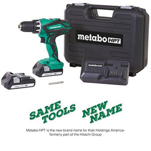 Metabo HPT DS18DGL 18V Lithium Ion Driver Drill