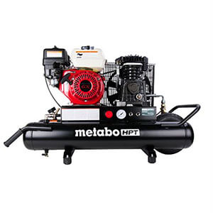 Metabo HPT EC2510E 8-Gallon Gas Powered Wheeled Air Compressor