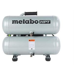 Metabo HPT EC99S 4-Gallon Portable Electric Twin Stack Air Compressor