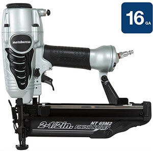 Metabo HPT NT65M2S 16-Gauge Finish Nailer with Air Duster
