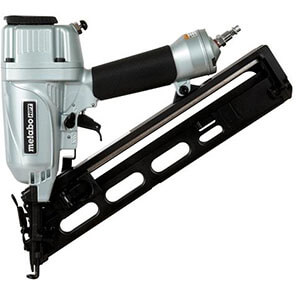 Metabo HPT NT65MA4 15-Gauge Angled Finish Nailer with Air Duster